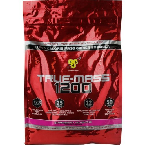 True Mass 1200 By BSN, Strawberry Milkshake 10.25lb by BSN Sports by BSN Sports B01MR37J8W