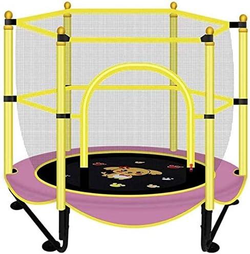 BZLLW Cama elástica, Mini Cama elástica con Red de Cerco, Ejercicio y Salud física trampolín for el bebé / niño, Interior / Exterior Jumpking Rebounder (Adultos y niños de Edad 5+)