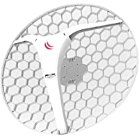 MikroTik LHG XL HP5 Dual Chain Extra Large High Power 27dBi 5GHz CPE Point-to-Point Integrated Antenna (RBLHG-5HPnD-XL-US)