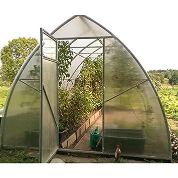 RicHHouse Polycarbonate Serre Toutes Saisons Jardinage Culture ...