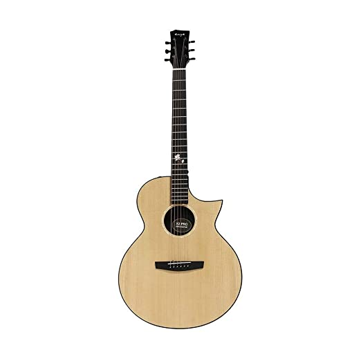 Zxllyntop Guitarra acustica 41 Pulgadas Pro Spruce Chapa Sharp ...