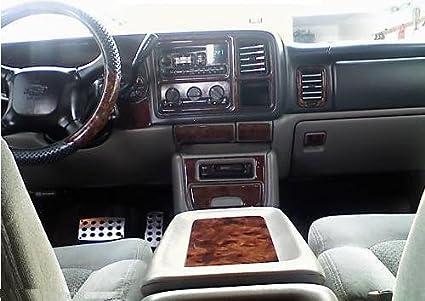 Amazoncom Chevrolet Chevy Suburban Interior Burl Wood Dash Trim