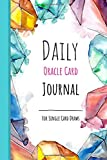 Daily Oracle Card Journal - For Single Card