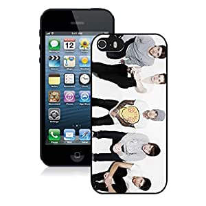 New Unique DIY Antiskid Skin Case For Iphone 5S bring me the horizon (2) iPhone 5s Black Phone Case 062