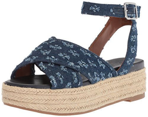 Image of Nine West Women's SHOWRUNNER Denim Sandal