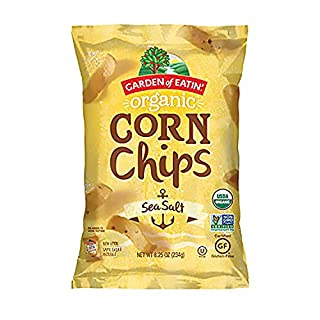 Garden of Eatin' Organic Sea Salt Yellow Corn Chips, 8.25 Ounce, 12 Count
