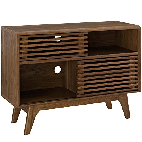 Modway  Render, Display Stand, Walnut