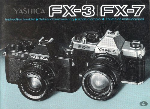 Yashica FX-3/FX-7 Instruction Manual - MultiLanguage