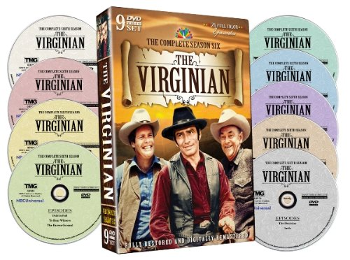 The Virginian: The Complete Sixth Season James Drury Doug McClure Clu Gulager Charles Bickford