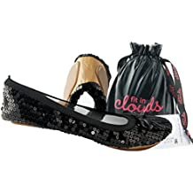 Sequin Foldable Portable Flats That Fold and Fit In a Bag
