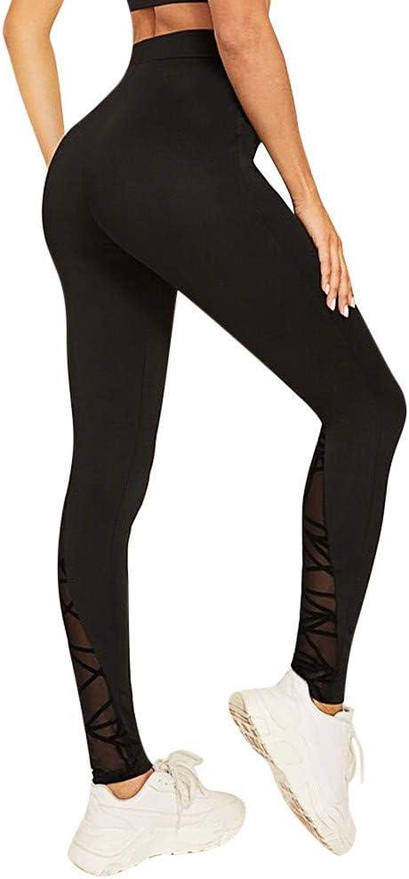SMILEQ Pantalones de Yoga para Mujer Pantalones de Deporte ...