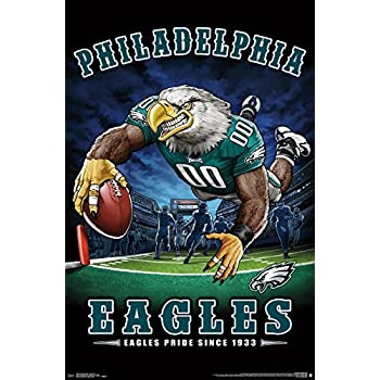 Trends International NFL Philadelphia Eagles - End Zone Wall Poster, 22.375
