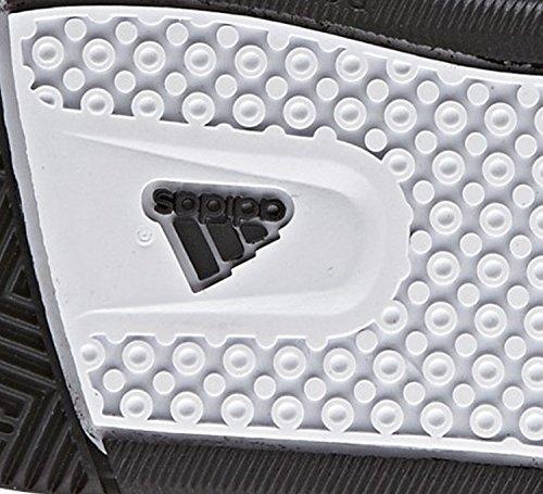 adidas Zapatillas de guzzo C Velcro Negro/Verde/Blanco, infantil, negro, 32 negro