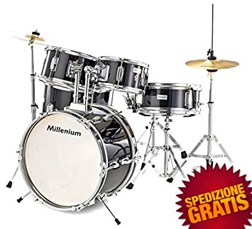 Batería Para Niños de Estudio Conjunto Millenium MX Jr. Junior Drumset: Amazon.es: Instrumentos musicales