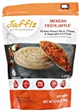 Jafflz Ready-to-Eat Pre-Made Sandwiches Healthy Frozen Sandwiches Gourmet Frozen Appetizers Toasted Pocket Sandwiches - 12 Count (La Fiesta Jaffle)