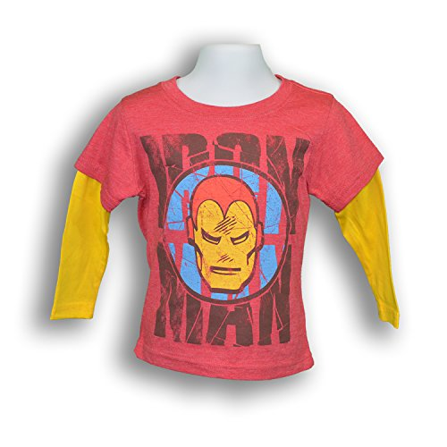 Marvel Iron Man Face Toddler's Kid's T-shirt