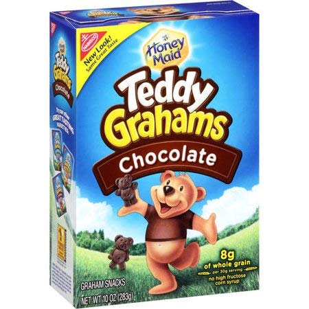 Nabisco, Teddy Grahams Snacks Chocolate -3PACK by Nabisco