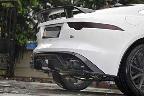 EpparCarbon Fiber Rear Spoiler for Jaguar F-Type 2014 2015 by Eppar