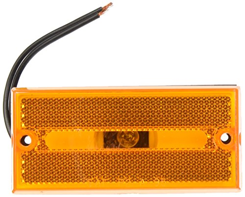 Peterson Manufacturing V132A Amber Rectangular Clearance/Side Marker ()