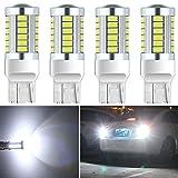 7440 led bulb - Botepon 4Pcs 7443 T20 7440 7441 7444 992 Led Reverse Light, 5630 33-SMD 900 Lumens 8000K Extremly Bright Led Bulb for Car Led Backup Reverse Lights Tail Brake Stop Lamp 12V White