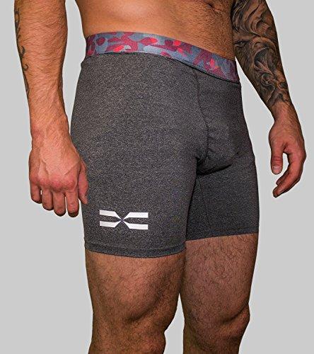 473c45a5ddb667 Feflogx Sportswear Tight-Shorts-Camouflage Herren   Hochwertige  Sport-Shorts mit Kompression   Optimal für Kampfsport, Gym &  Trainings-Unterstützung: ...