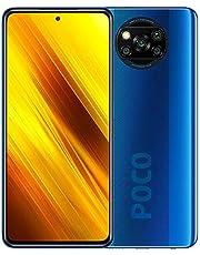 "Xiaomi POCO X3 NFC Smartphone RAM 6GB ROM 128GB 6,67""FHD+ LCD DotDisplay 5,160 mAh (typ) batterij met hoge capaciteit Blauw [Globale versie]"