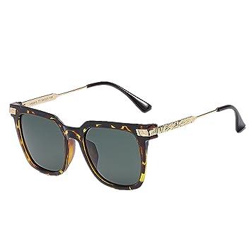 GZW001 Gafas de Sol polarizadas Gafas Retro Unisex clásicas ...