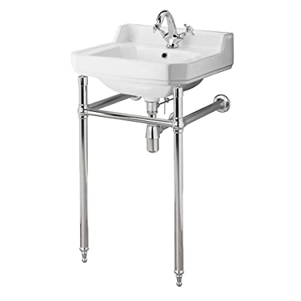 Consolle Bagno In Ceramica.Hudson Reed Old London Consolle Con Lavabo Bagno In Ceramica