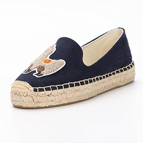 Segeltuchschuhe - Alpargatas de Sintético para Niña, Color Azul, Talla 5: Amazon.es: Zapatos y complementos