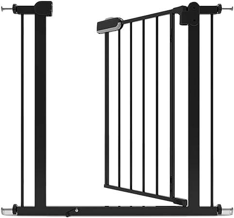 WHAIYAO Bebé Puerta De La Escalera Barrera Puerta Infantil Montaje A Presión for Pasillo De Escaleras Interiores Protección De Seguridad, Puerta De Metal Expandible: Amazon.es: Hogar