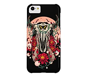 Buffalo Girl iPhone 5c Black Barely There Phone Case - Design By Humans