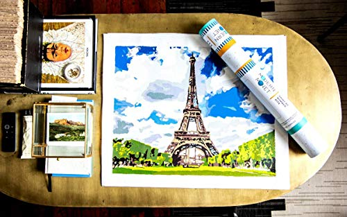 Modern Monet paint by numbers kits
