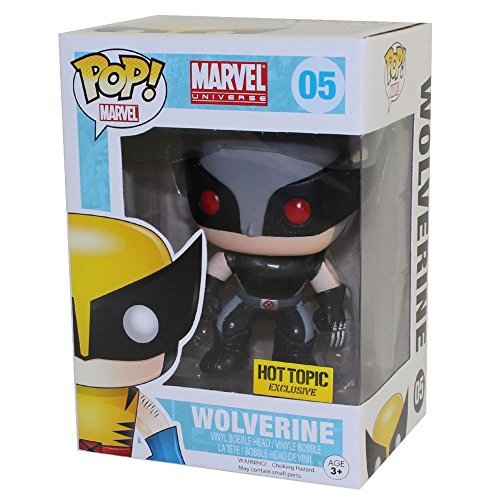Funko Marvel POP! Wolverine Xforce Costume Exclusive Variant by Fu