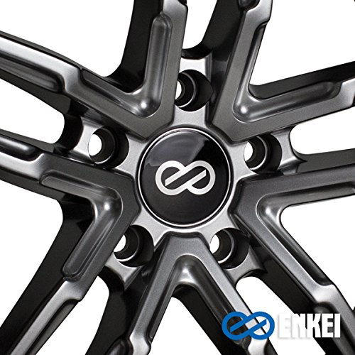 17'' Enkei SS05 Performance Wheel Rim Gray 17x7.5 5x114.3 +40 511-775-6540GR by Enkei (Image #1)