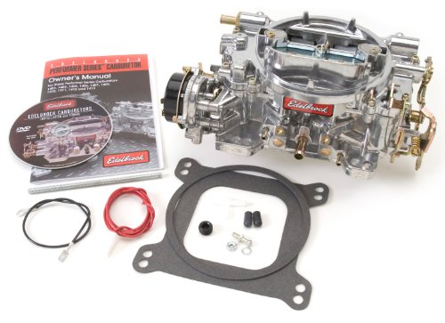 Edelbrock 1411 Performer 750 CFM Square Bore 4-Barrel Air Valve Secondary Electric Choke New Carburetor (Edelbrock Carburetor compare prices)