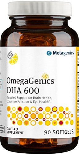 Metagenics OmegaGenics DHA 600 Count