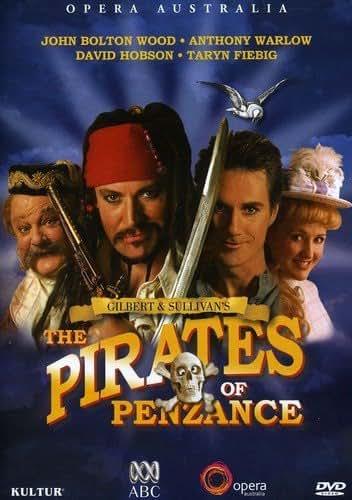 Gilbert & Sullivan - Pirates of Penzance / Anthony Warlow, David Hobson, Australian Opera