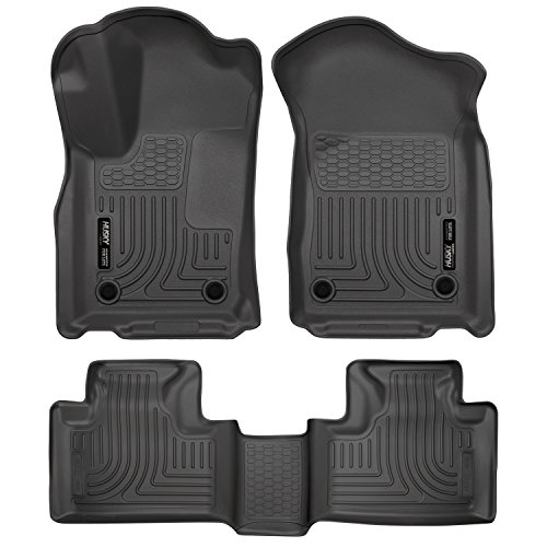 2016 Jeep Grand Cherokee - All Weather Technology Floor Liners by Husky Liners ( Weatherbeater Series Front And Second Rows - Black )