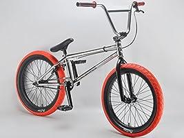 Mafiabikes Kush 2+ - Bicicleta BMX, 50,8 cm, color cromado: Amazon ...