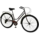 Deco 79 Modern 22 x 38 Inch Iron Bicycle Model Wall Decor Metal, Red