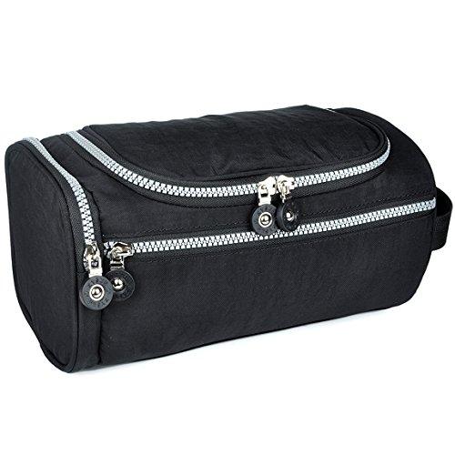 Men Toiletry Bag,ZYSUN Travel Hanging Toiletry Kit Bag for Men