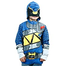 Freeze Kids boys Power Rangers Dino Charge Blue Ranger Costume Hoodie
