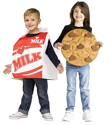 Milk & Cookies Pair Toddler (Scary Toddler Halloween Costumes)