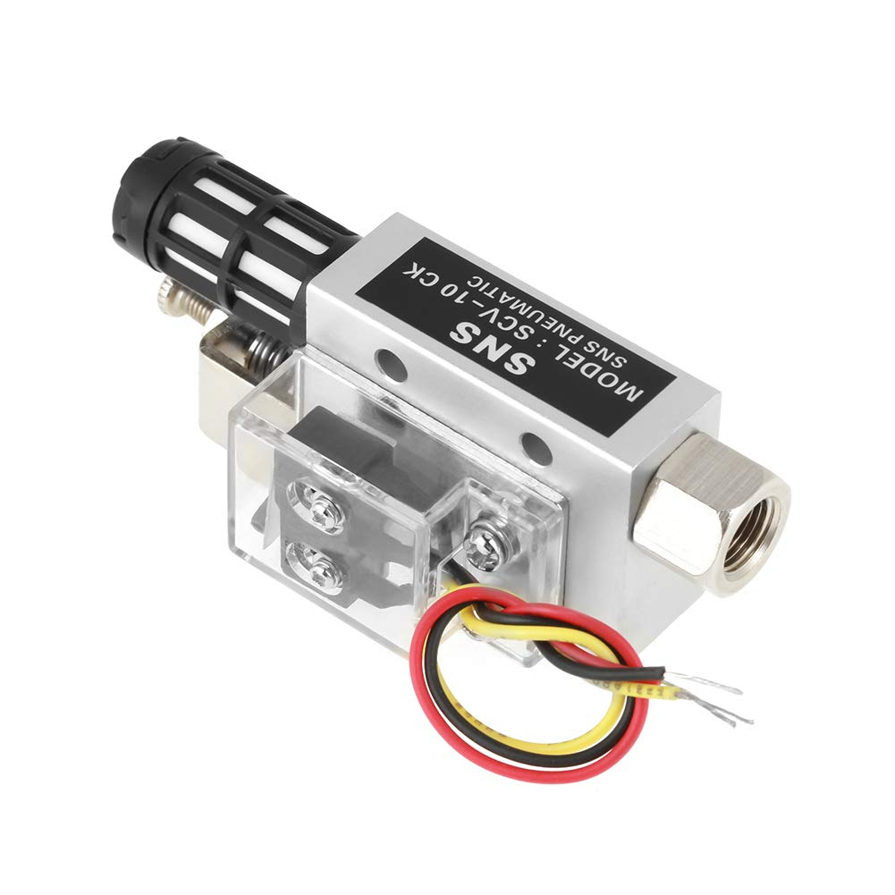 SNS Pneumatischer Unterdruckgenerator PR1 4Innengewinde Vakuum-Ejektor Generator SCV-10CK