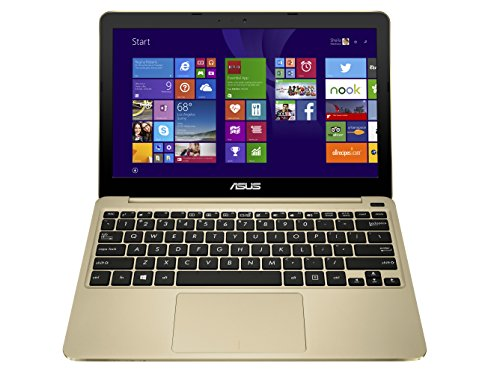 ASUS X205TA 11.6 Inch Laptop (Intel Atom, 2 GB, 32GB SSD, Gold)