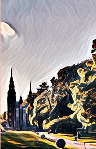 Weekly Planner: Rosenborg Castle at Sunset in Copenhagen