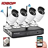 Yeskam Security Camera System 1080P HD Wireless IP Cameras and 4 Channel NVR Recorder with Motion Activated Mobile App Remote View for Outdoor Home Surveillance with 2TB Hard Drive Review
