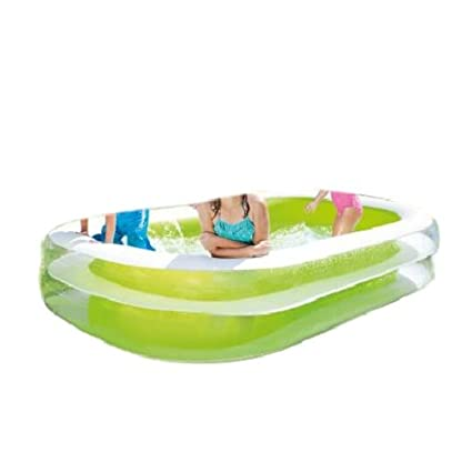 Amazon.com: Rectangular piscina inflable para niños Piscina ...