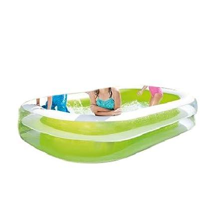 Amazon.com: Rectangular piscina inflable para niños Piscina ...