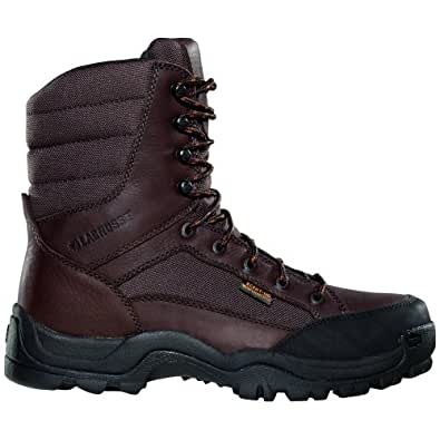 Men's Lacrosse 8 inch Big Country Non-Insulated Hunting Boots Brown